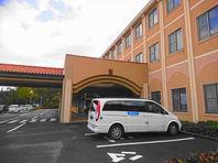 1月27日 玉野へのストレッチャー移送